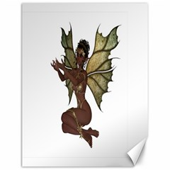 Faerie Nymph Fairy With Outreaching Hands Canvas 12  X 16  (unframed) by goldenjackal