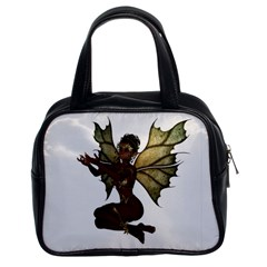 Faerie Nymph Fairy With Outreaching Hands Classic Handbag (two Sides)