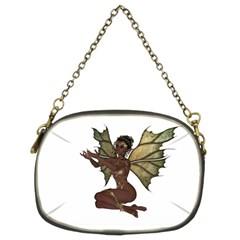 Faerie Nymph Fairy With Outreaching Hands Chain Purse (two Sided)  by goldenjackal