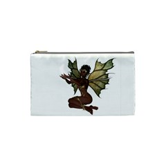 Faerie Nymph Fairy With Outreaching Hands Cosmetic Bag (small) by goldenjackal