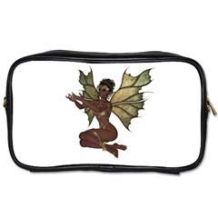 Faerie Nymph Fairy With Outreaching Hands Travel Toiletry Bag (one Side) by goldenjackal