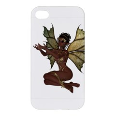 Faerie Nymph Fairy With Outreaching Hands Apple Iphone 4/4s Hardshell Case by goldenjackal