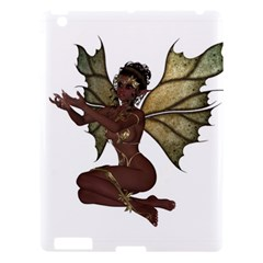 Faerie Nymph Fairy With Outreaching Hands Apple Ipad 3/4 Hardshell Case by goldenjackal