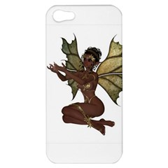 Faerie Nymph Fairy With Outreaching Hands Apple Iphone 5 Hardshell Case by goldenjackal