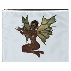 Faerie Nymph Fairy With Outreaching Hands Cosmetic Bag (xxxl) by goldenjackal