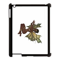 Faerie Nymph Fairy With Outreaching Hands Apple Ipad 3/4 Case (black) by goldenjackal