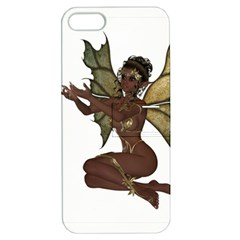 Faerie Nymph Fairy With Outreaching Hands Apple Iphone 5 Hardshell Case With Stand by goldenjackal