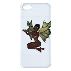 Faerie Nymph Fairy With Outreaching Hands Iphone 5s Premium Hardshell Case by goldenjackal