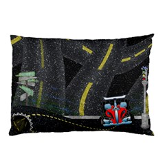 Roadtrip Pillow By Cherish Collages   Pillow Case (two Sides)   7p2c5oyxdpl1   Www Artscow Com Back