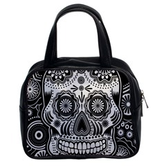 Skull Classic Handbag (two Sides) by Ancello