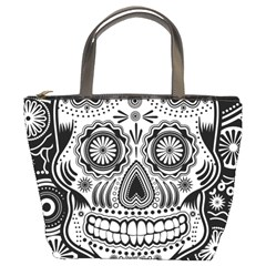 Skull Bucket Bag by Ancello