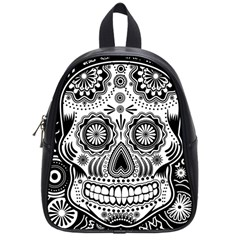 Skull School Bag (small) by Ancello