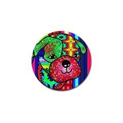 Pug Golf Ball Marker 4 Pack by Siebenhuehner