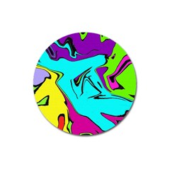 Abstract Magnet 3  (round) by Siebenhuehner