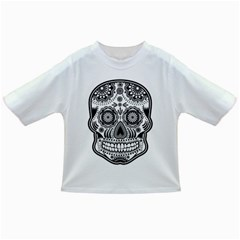 Sugar Skull Infant/toddler T Shirt by Ancello
