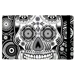 Sugar Skull Apple Ipad 3/4 Flip Case by Ancello