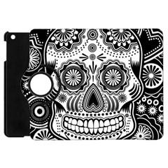 Sugar Skull Apple Ipad Mini Flip 360 Case by Ancello