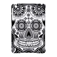 Sugar Skull Apple Ipad Mini Hardshell Case (compatible With Smart Cover) by Ancello