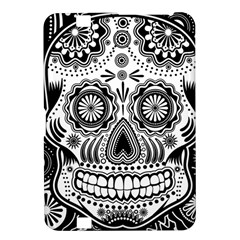 Sugar Skull Kindle Fire Hd 8 9  Hardshell Case by Ancello