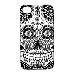 Sugar Skull Apple Iphone 4/4s Hardshell Case With Stand by Ancello