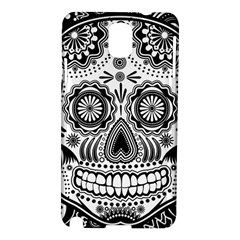 Sugar Skull Samsung Galaxy Note 3 N9005 Hardshell Case by Ancello