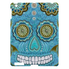 Skull Apple Ipad 3/4 Hardshell Case by Ancello