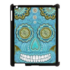 Skull Apple Ipad 3/4 Case (black) by Ancello