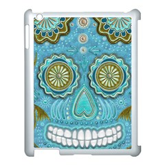 Skull Apple Ipad 3/4 Case (white) by Ancello