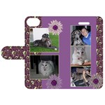 Purple Apple iPhone 5C Leather Folio Case