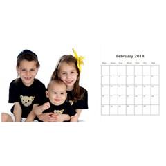 Miri Calender By Suri   Desktop Calendar 11  X 5    100r0938rj12   Www Artscow Com Feb 2014