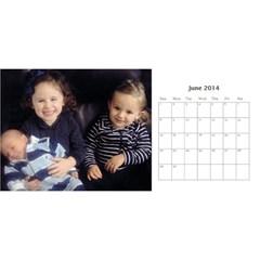 Miri Calender By Suri   Desktop Calendar 11  X 5    100r0938rj12   Www Artscow Com Jun 2014