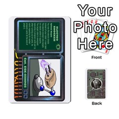 King Roborally Options By Steve   Playing Cards 54 Designs   8rrza3x47itw   Www Artscow Com Front - ClubK