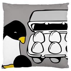 Egg Box Linux Large Cushion Case (single Sided)