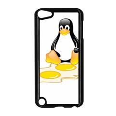 Linux Tux Penguin Birth Apple Ipod Touch 5 Case (black)