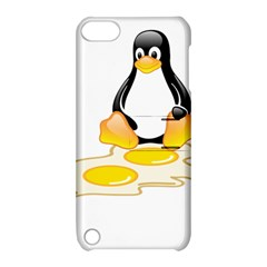 Linux Tux Penguin Birth Apple Ipod Touch 5 Hardshell Case With Stand by youshidesign