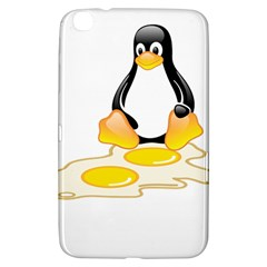 Linux Tux Penguin Birth Samsung Galaxy Tab 3 (8 ) T3100 Hardshell Case  by youshidesign