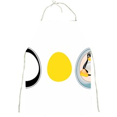 Linux Tux Penguin In The Egg Apron by youshidesign