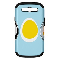 Linux Tux Penguin In The Egg Samsung Galaxy S Iii Hardshell Case (pc+silicone) by youshidesign