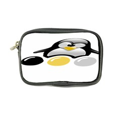 Linux Tux Pengion And Eggs Coin Purse