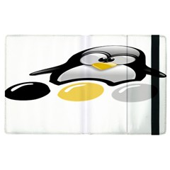 Linux Tux Pengion And Eggs Apple Ipad 3/4 Flip Case by youshidesign