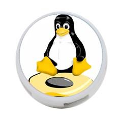 Linux Black Side Up Egg 4 Port Usb Hub (one Side) by youshidesign
