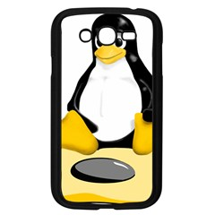 Linux Black Side Up Egg Samsung Galaxy Grand Duos I9082 Case (black) by youshidesign