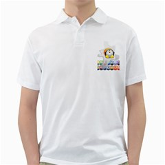 LINUX VERSIONS Mens  Polo Shirt (White) by youshidesign