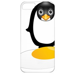 Linux Tux Pengion Oops Apple Iphone 5 Classic Hardshell Case by youshidesign