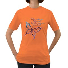 A Beautiful Tee Womens' T Shirt (colored) by Contest1708347