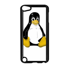 Linux Tux Contra Sit Apple Ipod Touch 5 Case (black)