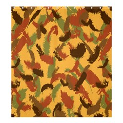 Feathers Fall Shower Curtain 66  X 72  (large) by DesignsbyReg2