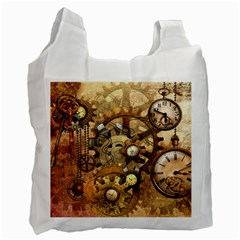 Steampunk Recycle Bag (one Side) by Ancello