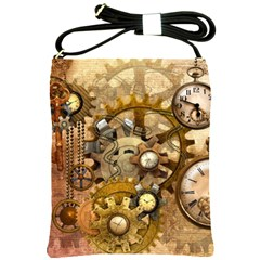 Steampunk Shoulder Sling Bag by Ancello