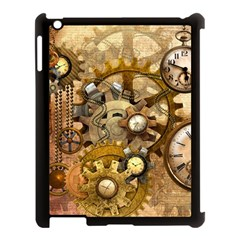 Steampunk Apple Ipad 3/4 Case (black) by Ancello